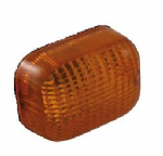 REPLACEMENT INDICATOR LENSES: Square Type As Fitted To Many Triumph Models. [1 Pair]